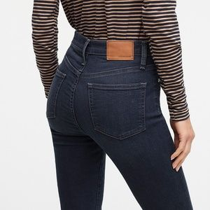 """J. Crew 9"""" High-Rise Toothpick Jeans Size 26"""